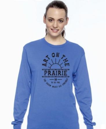 2020 Long Sleeve Royal Blue T-shirt picture