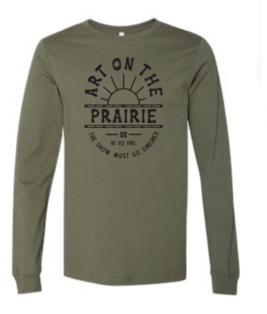 2020 Long Sleeve Military Green T-shirt