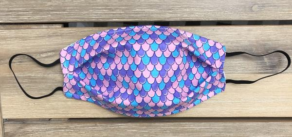 FABRIC MASK: Mermaid Scales