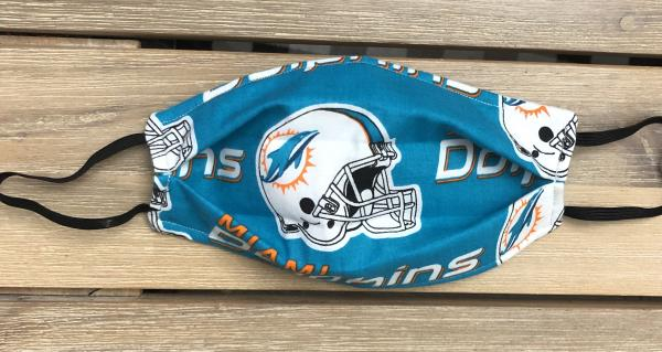 FABRIC MASK: Miami Dolphins Logo