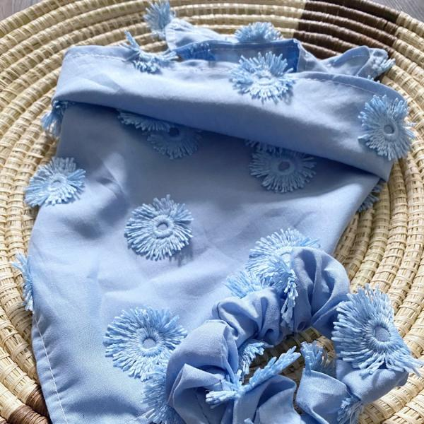 Forget Me Not Bandana