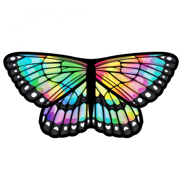Children and Adult Butterfly Wings Kids Cape Dress Up Dance Costume Wings