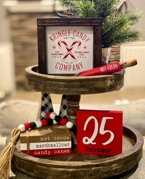 Kringle Candy Company-5 Piece Christmas Set