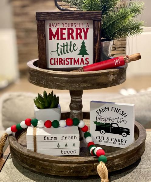 Merry little Christmas-5 Piece Christmas Set