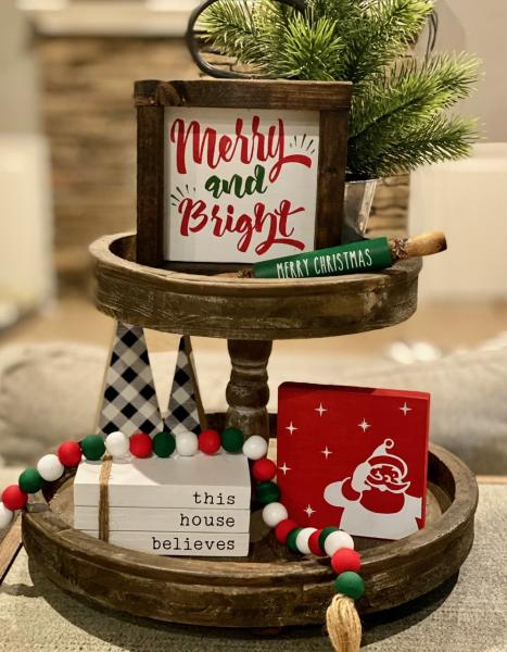 Merry and Bright-5 Piece Christmas Set