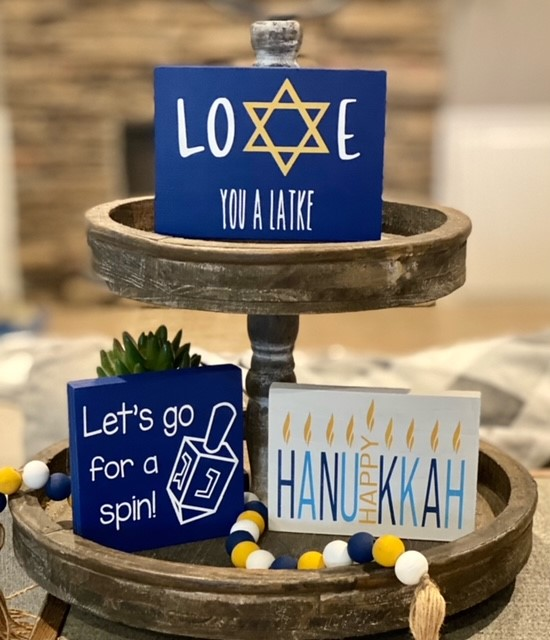 Unframed Hanukkah Signs