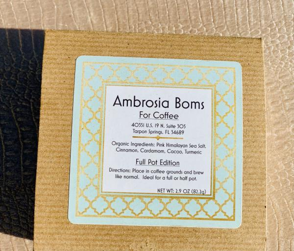Ambrosia Boms for Coffee Full Pot Edition