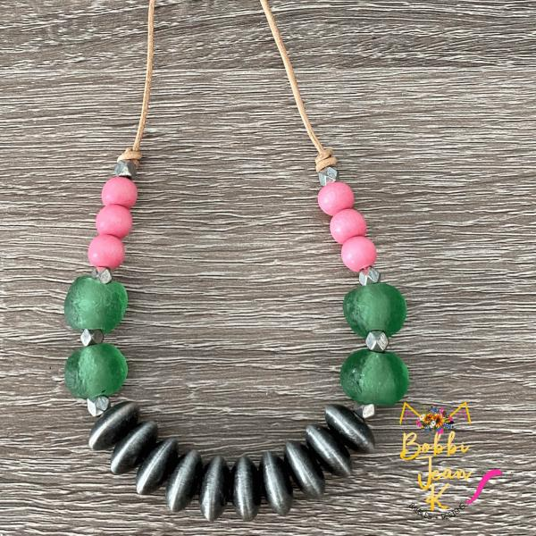 The Everyday Necklace: African Sea Glass