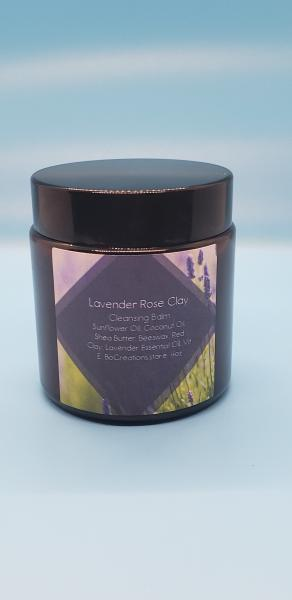 Lavender Rose Clay Face Cleansing Balm