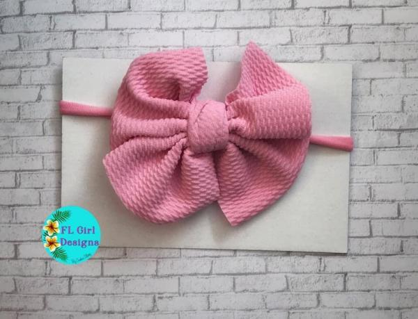 Bullet Fabric Bow / One Size Fits All picture