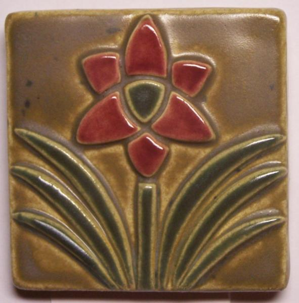 3x3 Arched Leaves Tile