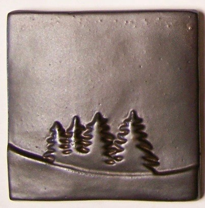4x4 Pines on Hill Down Tile