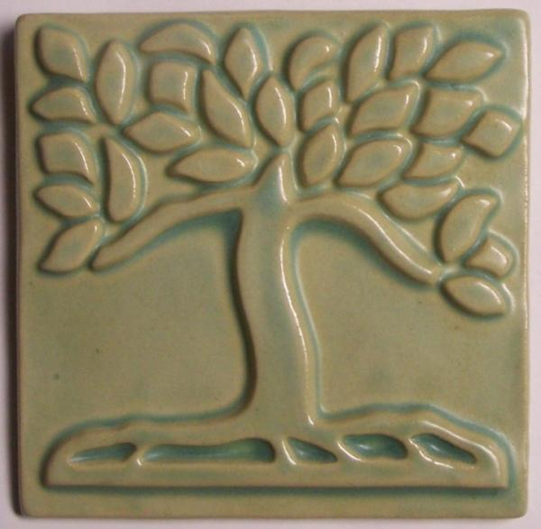 4x4 Style Tree Tile- One Color