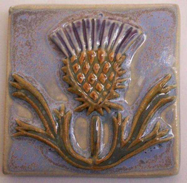 3x3 Thistle Tile Straight