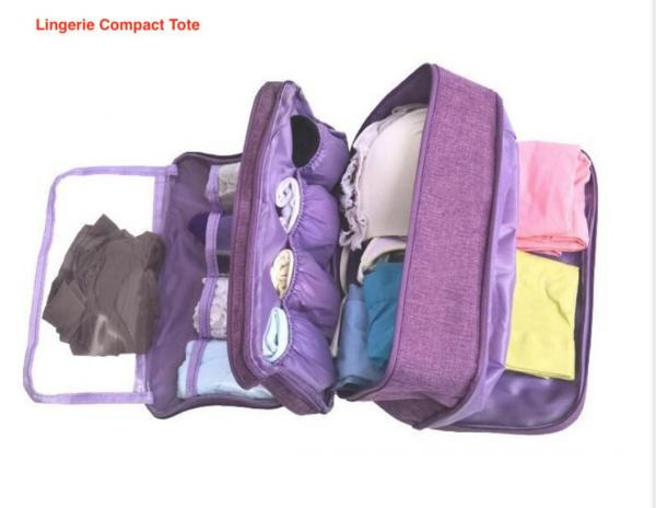 MOST POPULAR Packing Cube for Lingerie, Undergarments & More!