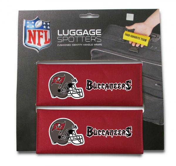 2-PK Luggage Spotter Handle Wraps - OFFICIAL SPORTS LOGOS
