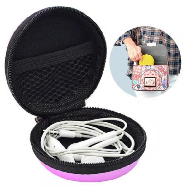 Earbuds, Phone Cords & More Storage Case - 2PK