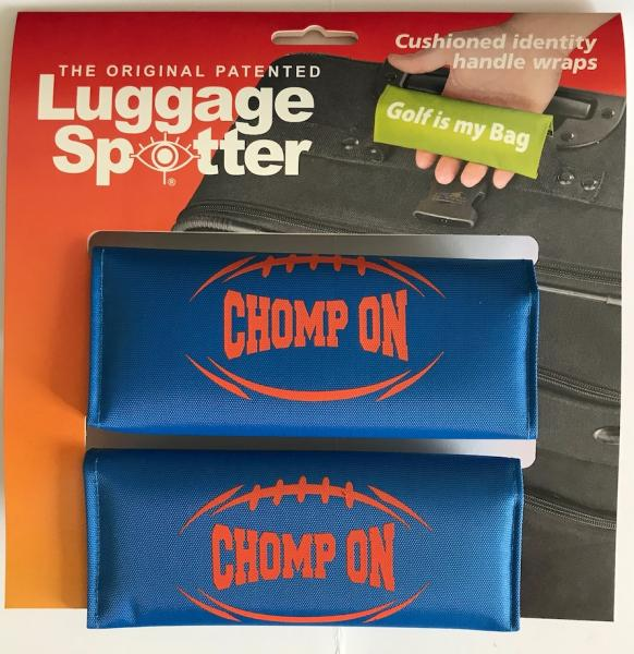 2-PK Luggage Spotter Handle Wraps - FOOTBALL SLOGANS
