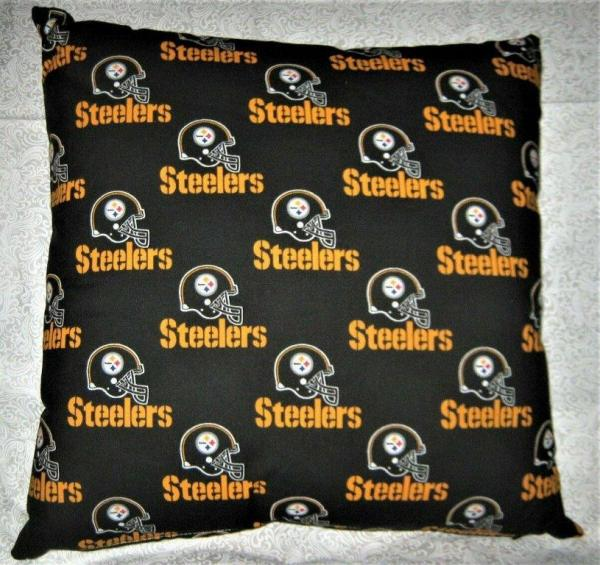 "NFL Team Throw Pillow - 18"" x 18"" Pillow Insert Included picture"