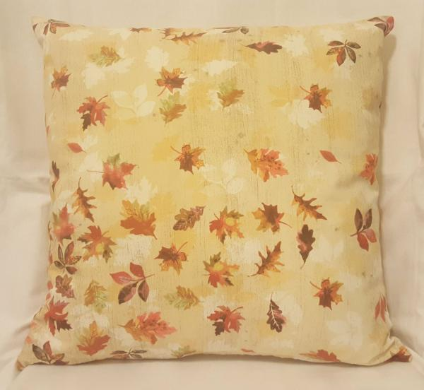 "Colorful Fall Throw Pillow - 18"" x 18"" Pillow Insert Included"