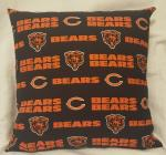 "NFL Team Throw Pillow - 18"" x 18"" Pillow Insert Included"