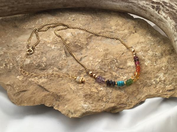 Chakra, Semi-Precious, gold fill and plsted
