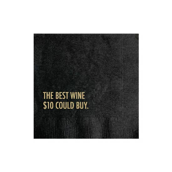 $10 Wine Cocktail Napkins