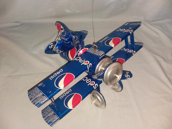 Pepsi Bi-Plane (Pictured) many varieties available