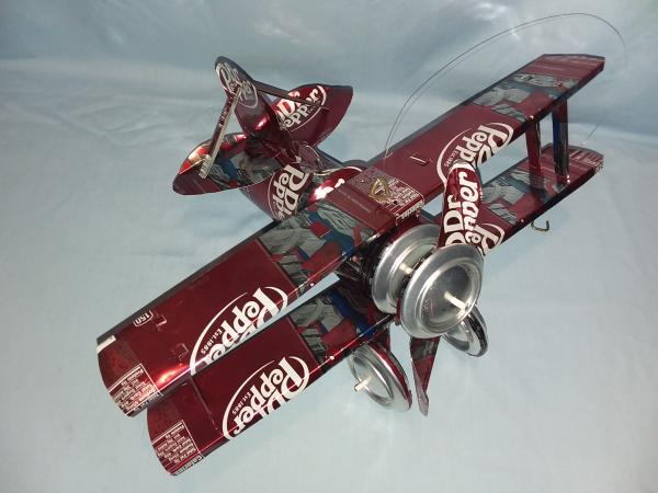 Dr. Pepper Spiderman Bi-Plane (Pictured) many varieties available