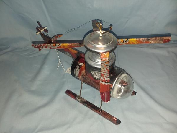 Dr. Pepper Helicopter (Pictured) many varieties available