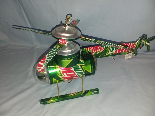 Mt. Dew Helicopter (Pictured) many varieties available