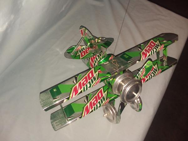 Diet Mt. Dew Bi-Plane (Pictured) many varieties available