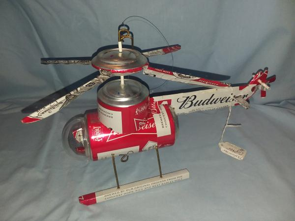 Budweiser Helicopter (Pictured) (many varieties available)