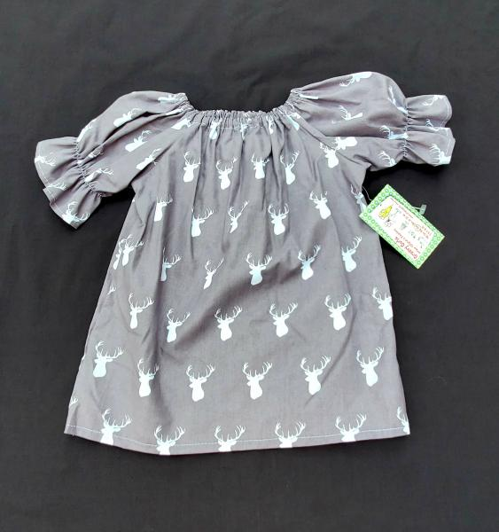 Deer Antlers Peasant Dress