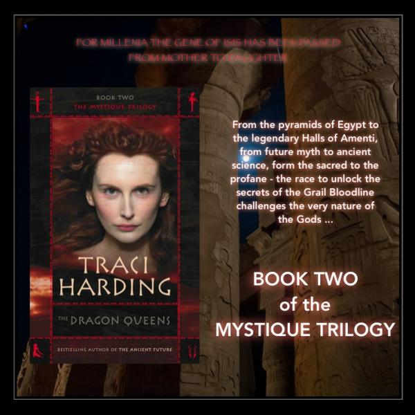 The Dragon Queens : Book 2 of 'The Mystique Trilogy