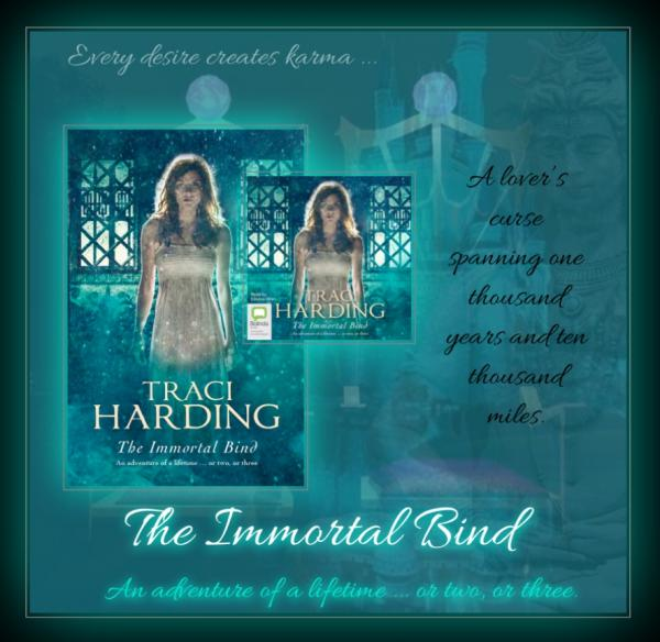 The Immortal Bind (Stand Alone Novel) Trade Paperback