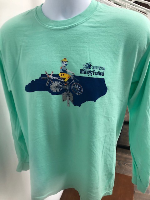 2020 Whirligig Festival long sleeve T-Shirt picture