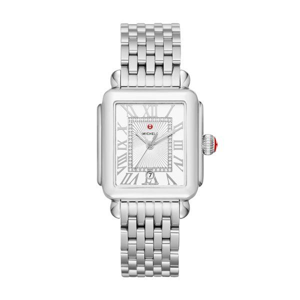 Michele Deco Madison, Diamond Dial Complete Watch