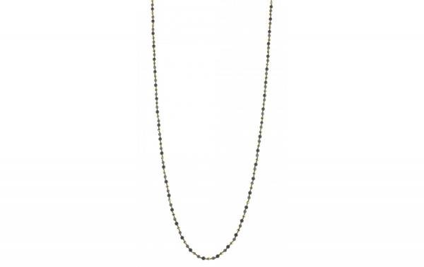 DANI DESIGNS HEMATITE GREY & GOLD CHAIN