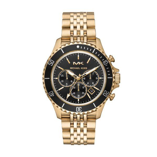Michael Kors Gold and Black Watch picture