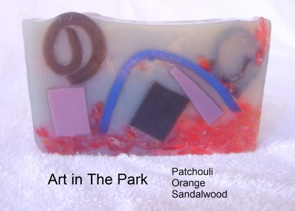 Art in the Park Soap