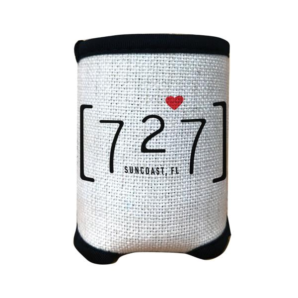 727 Area Code Suncoast Florida Can Cozie | Cozy Can Cover Cooler picture