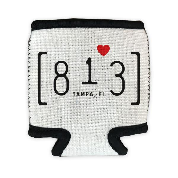 813 Tampa Area Code Can Cozie | Cozy Can Cover Cooler