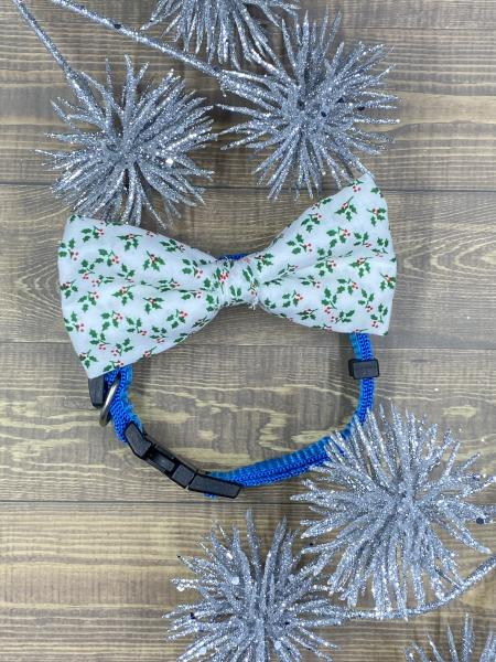Holly Dog Bowties