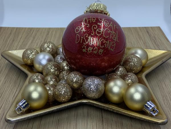 Medium ball ornament