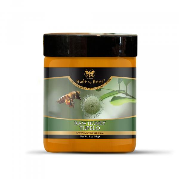 Raw Honey Five Pack Bundle with Honey Dipper
