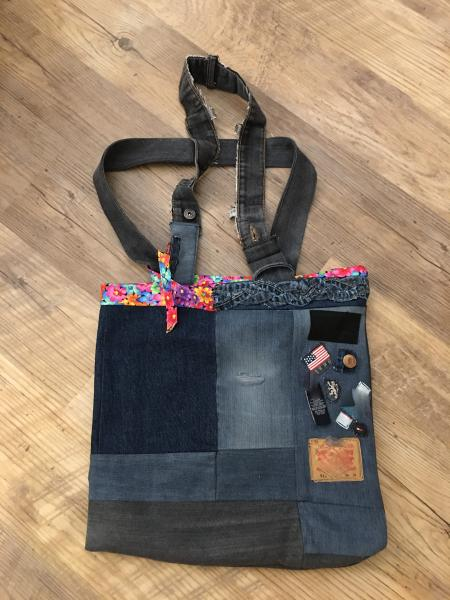 Custom Tote Bag-Made from Your Jeans