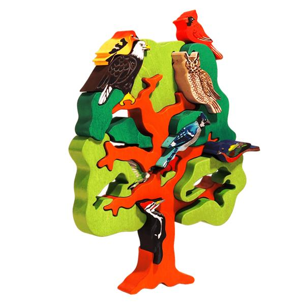 North American Bird Tree Puzzle