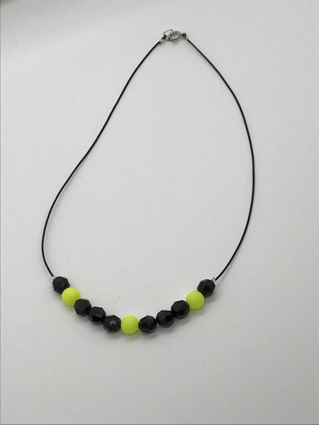 Chartreuse/Black Necklace picture