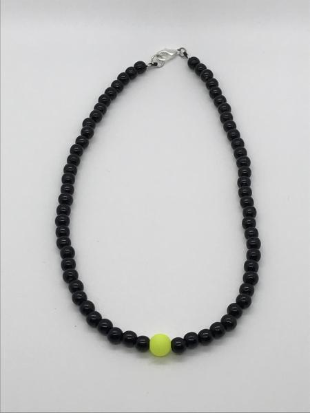 Black/Chartreuse Necklace picture